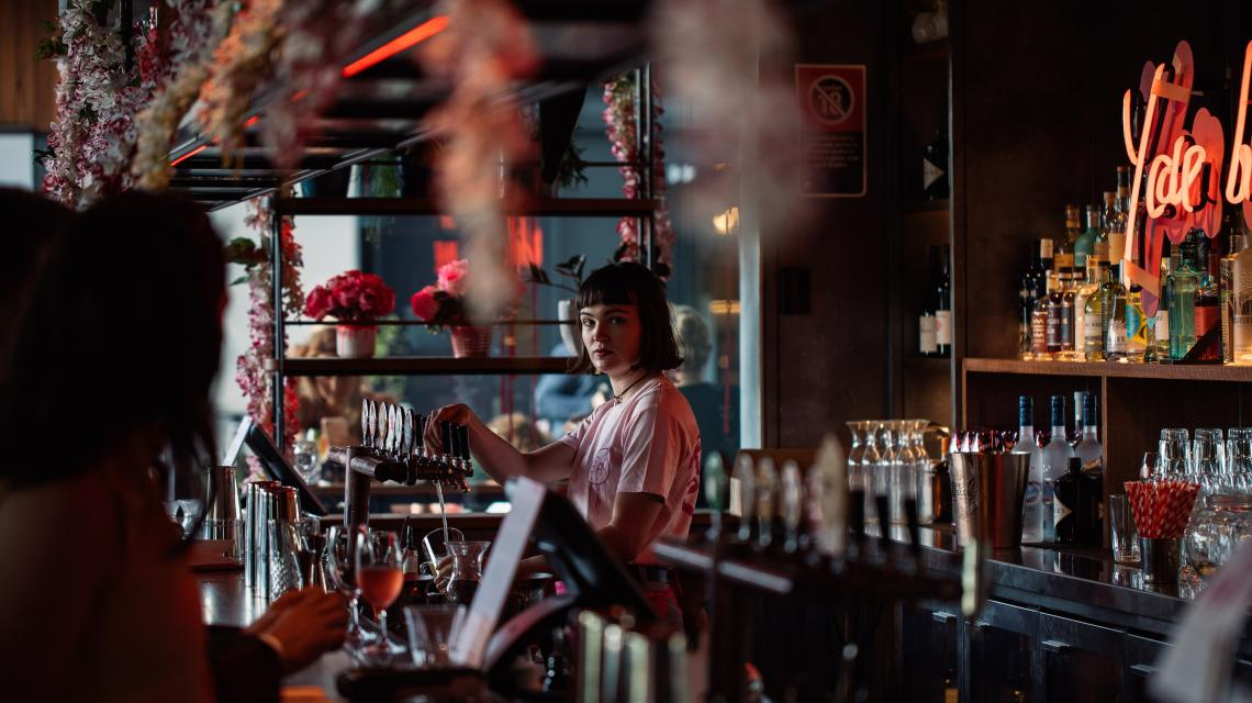 House Bar Rose Rising bar